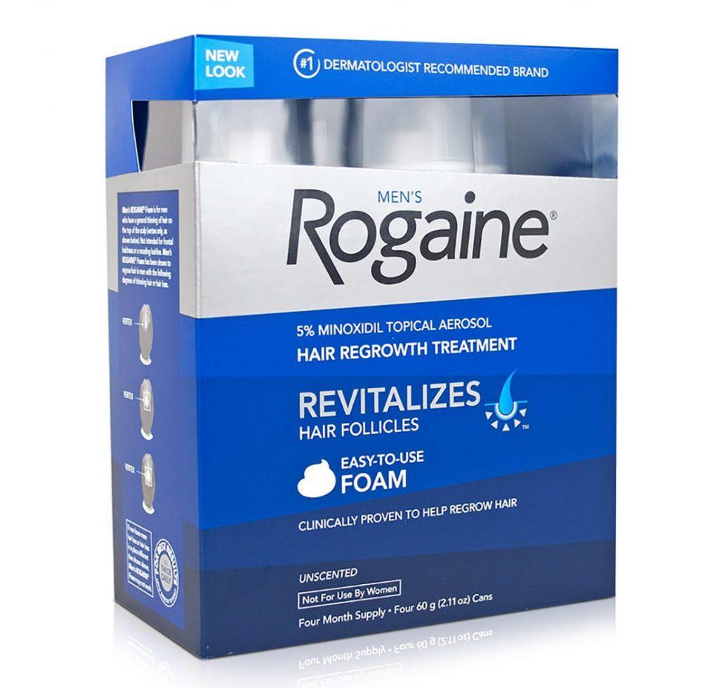 ROGAINE 5% Миноксидил. Обзор, отзывы, сравнение