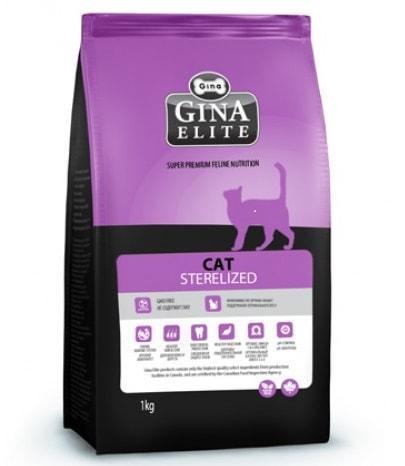 Gina Elite Cat Sterilized (18 кг) - обзор, сравнение, цена, отзывы