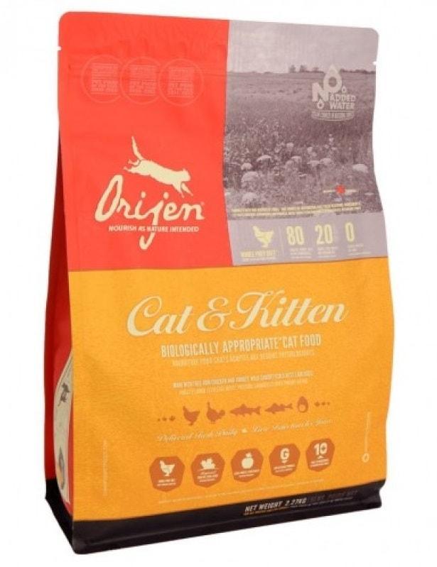 Orijen Cat & Kitten (18 кг) - обзор, сравнение, цена, отзывы