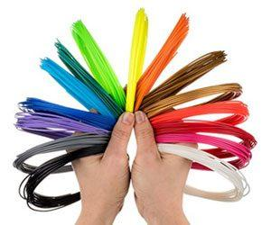 Разные цвета 3D ручек
