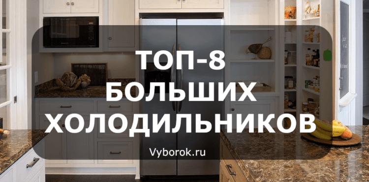 Рейтинг больших холодильников - ТОП-8 лучших 2019 года