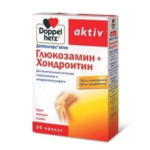 Доппельгерц Актив Глюкозамин + Хондроитин