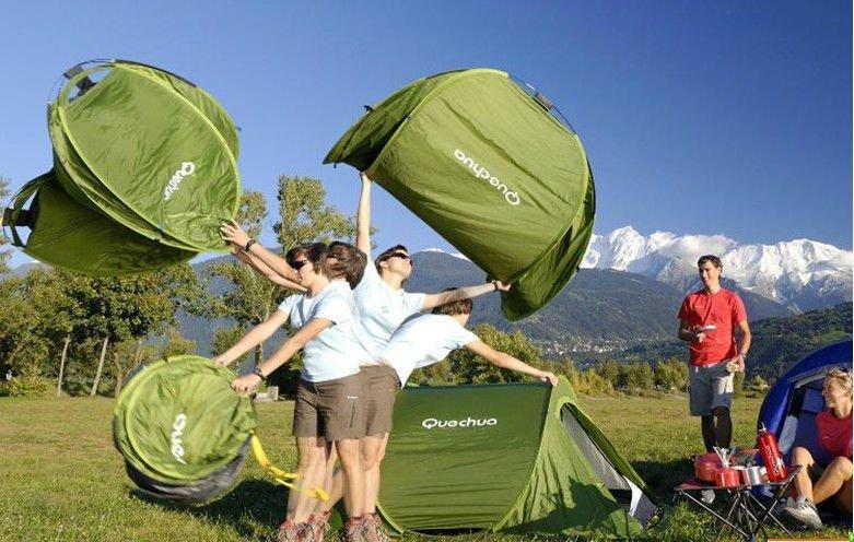 Quechua 2 SECONDS Tent обзор