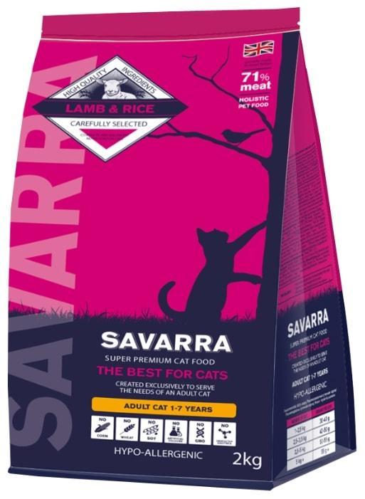 SAVARRA Adult Cat (15 кг) - обзор, цена, сравнение, отзывы