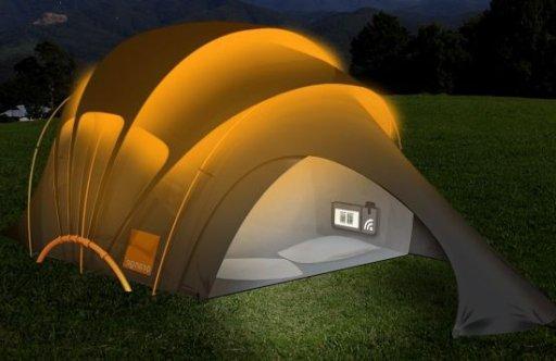 Orange Solar Tent обзор