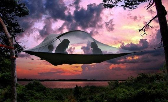 Самые необычные палатки в мире