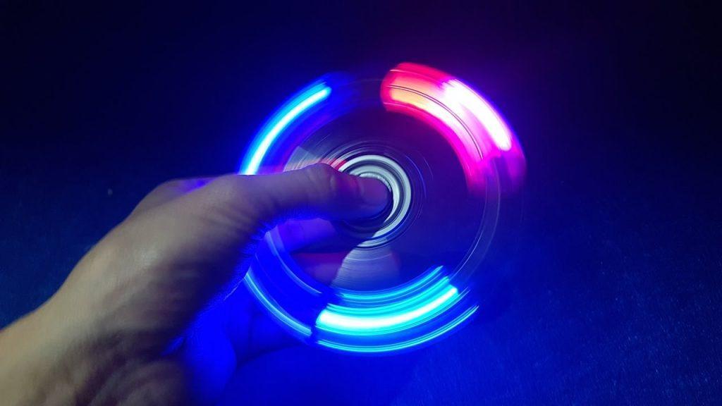 LED спиннер