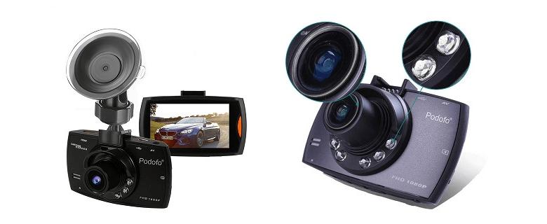 PODOFO CAR DVR CAMERA G30 - обзор, алиэкспресс, купить
