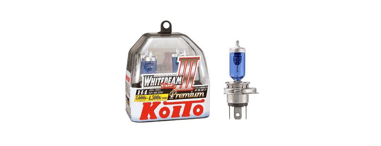 Koito H4 WhiteBeam III Premium 4500K - рейтинг, обзор, цена, отзывы, фото