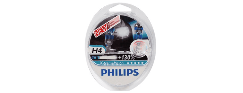 Philips H4 3700K X-treme Vision +130% - обзор, рейтинг, цена, отзывы, фото