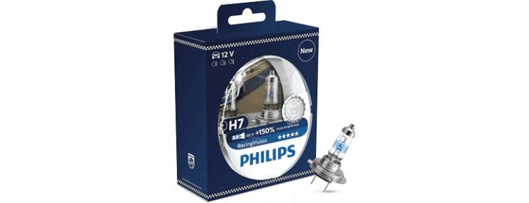 Philips H7 RacingVision +150% - рейтинг, цена, отзывы, фото