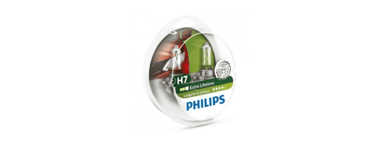 Philips LongLife EcoVision H7 - рейтинг, отзывы, цена, фото