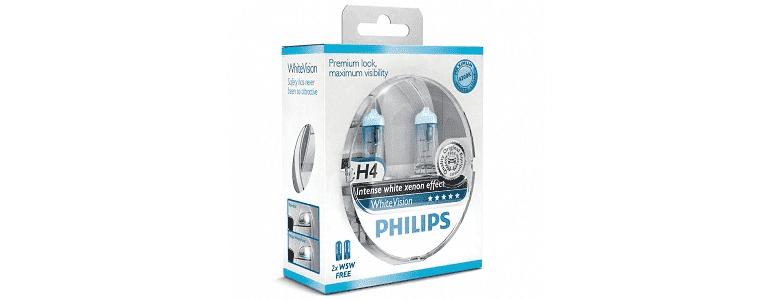 Philips White Vision H4 - рейтинг, цена, отзывы, фото