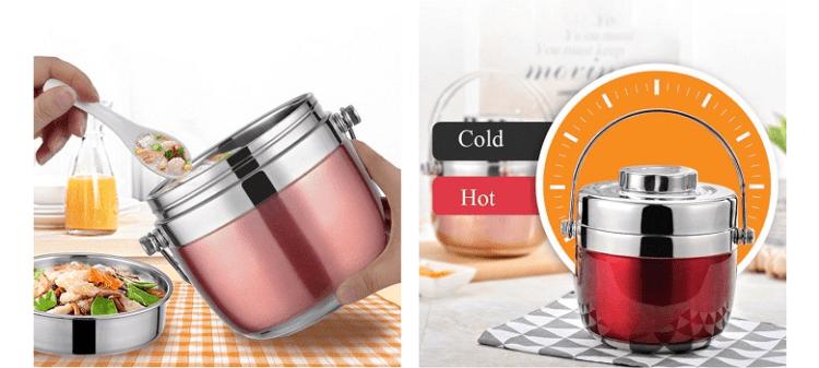 HooMALL Food Thermos - пищевой термос с алиэкспресс ,цена, купить