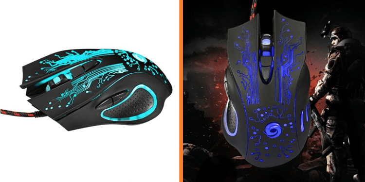 GRANDEY 6D USB Wired Gaming Mouse