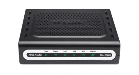 D-Link DSL-2520U
