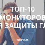 10 лучших мониторов для защиты глаз