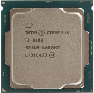 IntelCore i3-8100
