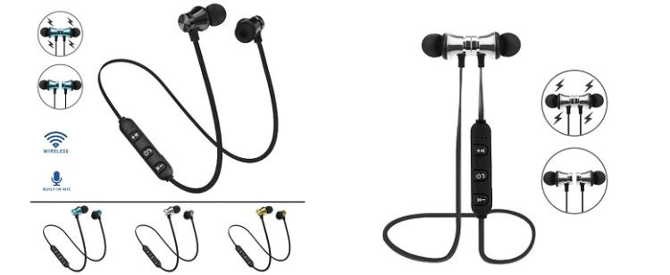 Robotsky XT-11 Magnetic Bluetooth Earphone