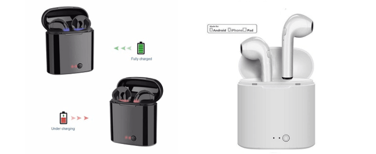 WeiFa JK i7s TWS Mini Wireless Bluetooth Earphone
