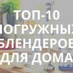 10 лучших погружных блендеров