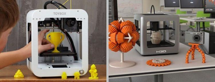 Размер рабочей зоны лучших 3д принтеров