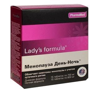 Ledy's Formula менопауза