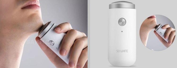 Компактная бритва Xiaomi SO WHITE ED1