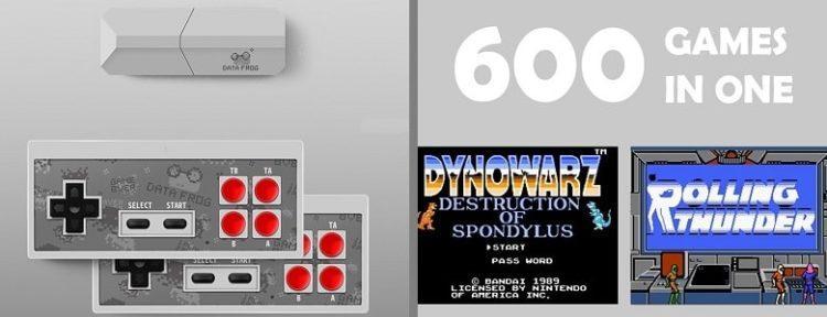 Ретро игровая консоль 600 игр