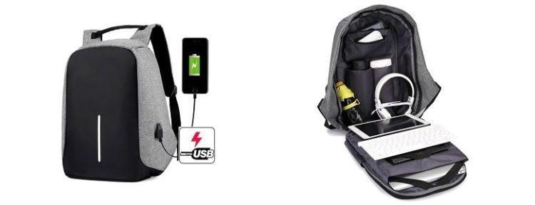 Стильный рюкзак с защитой от краж