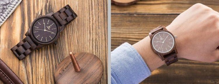 Деревянные часы UWOOD