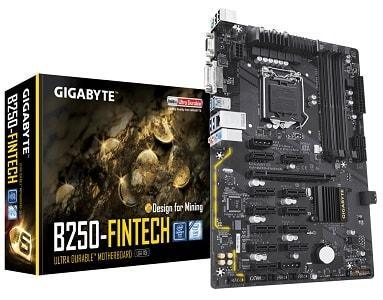 GIGABYTE GA-B250-FinTech (rev. 1.0)
