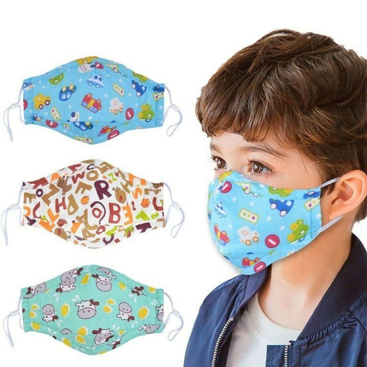 Детская мультяшная маска