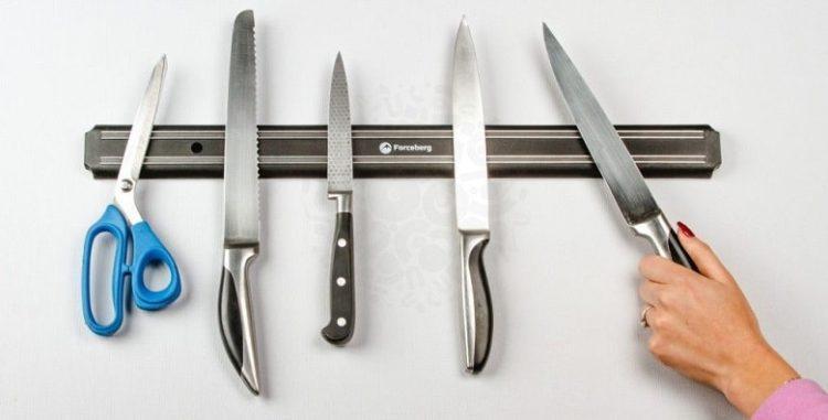 Стандартный набор ножей для кухни