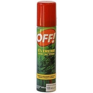 Аэрозоль OFF! Extreme от комаров и клещей