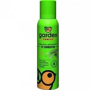 Аэрозоль Gardex Family от комаров