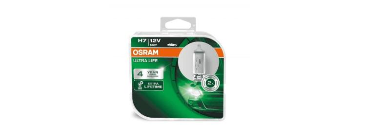 Osram Ultra Life H7 - отзывы, цена, фото, рейтинг