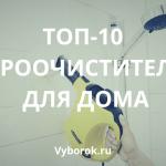 10 лучших пароочистителей для дома